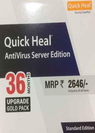 Renew Quick Heal Antivirus Server