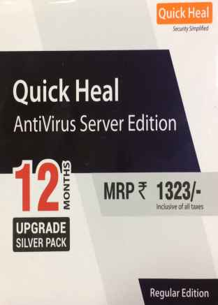 Renew Quick Heal Antivirus Server