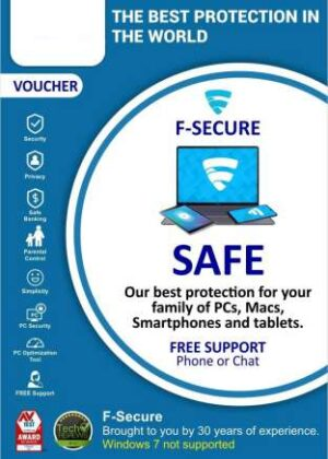 F-Secure SAFE Multi-device Internet Security