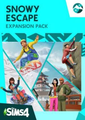 The Sims 4 Snowy Escape Pack Origin Key GLOBAL